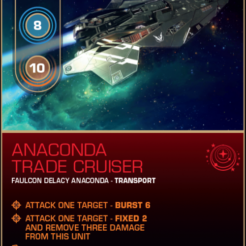 Battlecard of the Day – Anaconda Trade Cruiser