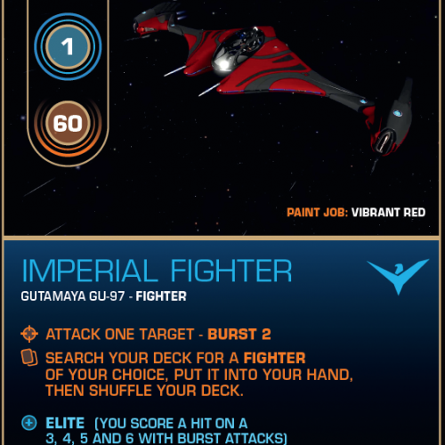 Battlecard of the Day – Imperial Fighter