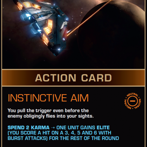 Battlecard of the Day – Instinctive Aim