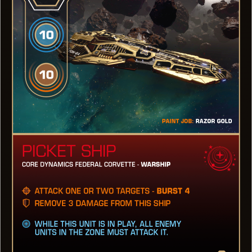 Battlecard of the Day – Picket Ship