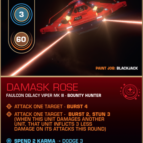 Battlecard of the Day – Damask Rose